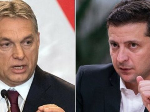 Зеленський, Орбан